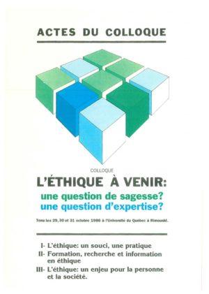 thumbnail of DUMAIS Éthique de la créativité